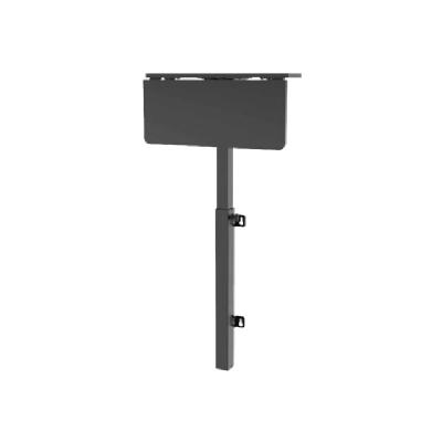 Tripp Lite Safe-IT Adjustable-Height Wall-Mount Workstation - Antimicrobial Protection, Black - mounting kit - for LCD display / keyboard / mouse / CPU / notebook ORKSTATION