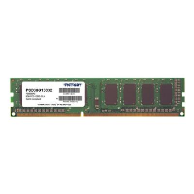 Patriot Signature Line - DDR3 - 8 GB - DIMM 240-pin