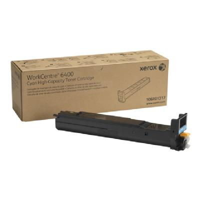 Xerox WorkCentre 6400 - High Capacity - cyan - original - toner cartridge  Pages - WorkCentre 6400