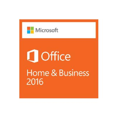 Microsoft Office Home and Business 2016 - box pack - 1 PC (North America) NLICS