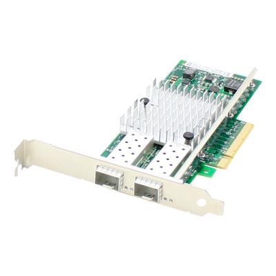 AddOn Intel E10G42BFSR Comparable PCIe NIC - network adapter - PCIe x8 - 10 Gigabit SFP+ x 2 CCTLR