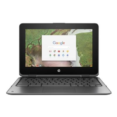 "HP Chromebook x360 11 G1 - Education Edition - 11.6"" - Celeron N3450 - 4 GB RAM - 32 GB SSD (Language: English / region: Canada) B 32GB CHRO"