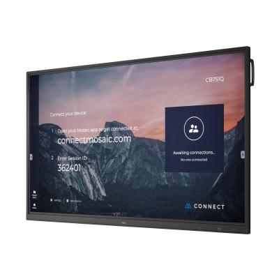 "NEC MultiSync CB651Q (Infrared Touch) 65"" Class (64.5"" viewable) LED display - 4K  MNTR"