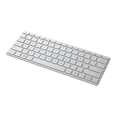 Microsoft Designer Compact - keyboard - English - glacier ER US CA 1