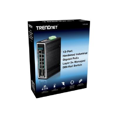 TRENDnet TI-PG1284I - switch - 12 ports - managed  PERP