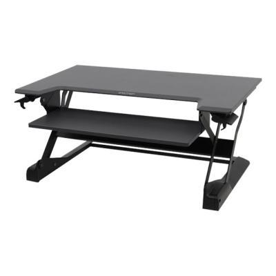 Ergotron WorkFit-TL - standing desk converter station (black with grey surfa ce)