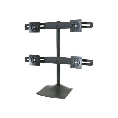 Ergotron DS100 Quad-Monitor Desk Stand - stand - for 4 LCD displays E