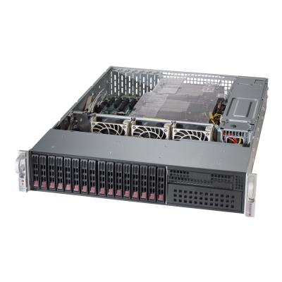 Supermicro SC213 AC-R920LPB - rack-mountable - 2U - enhanced extended ATX  RM