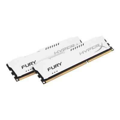 HyperX FURY - DDR3 - 8 GB: 2 x 4 GB - DIMM 240-pin - unbuffered  MEM