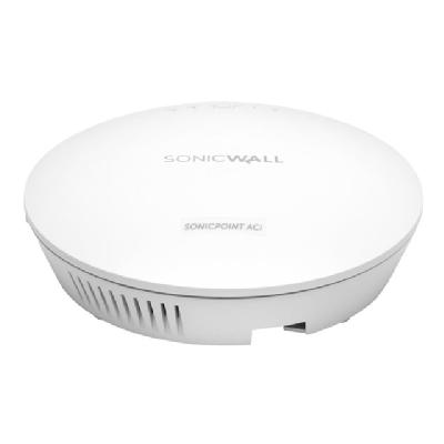 SonicWall SonicPoint ACi - wireless access point - with 3 years Dynamic Support 24X7 - with SonicWALL 802.3at Gigabit PoE Injector  WRLS
