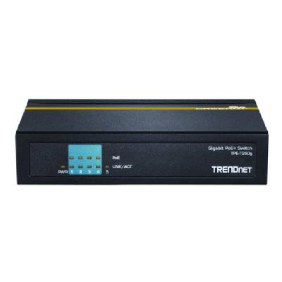 TRENDnet TPE TG50g - switch - 5 ports  PERP