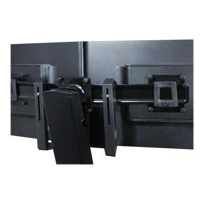 Ergotron Dual Monitor & Handle Kit - mounting kit - for 2 LCD displays