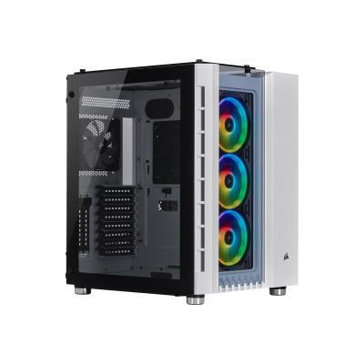 CORSAIR Crystal Series 680X RGB - tower - extended ATX B Case  White