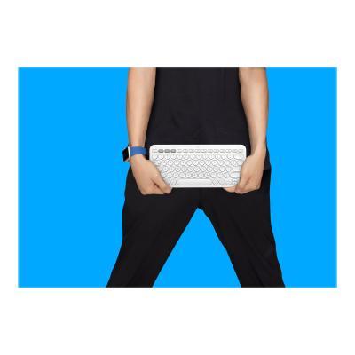 Logitech K380 Multi-Device Bluetooth Keyboard - keyboard - off-white  OFF-WHITE