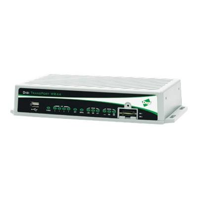 Digi TransPort WR44 R - wireless router - WWAN - 802.11b/g/n - desktop Fleet I/O  WiFi (B/G/N)  Enter prise Software Packa