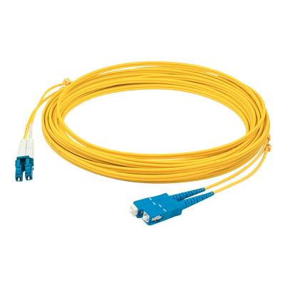 AddOn 2m LC to SC OS1 Yellow Patch Cable - patch cable - 2 m - yellow  CABL