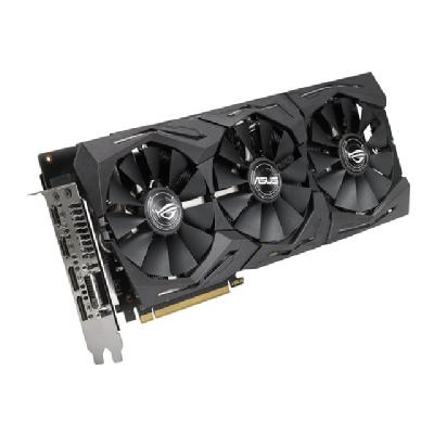 ASUS ROG-STRIX-RX580-8G-GAMING - graphics card - Radeon RX 580 - 8 GB Radeon RX 580 OpenGL4.5 GDDR5 8GB Engine Clock:136
