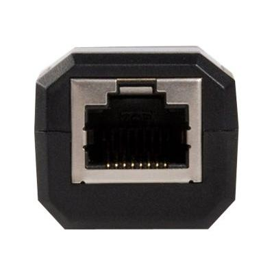 StarTech.com USB To Ethernet Adapter - 10/100Mbps Ethernet - USB 2.0 - Black - USB Ethernet Adapter (USB2106S) - network adapter - USB 2.0 - 10/100 Ethernet ETH