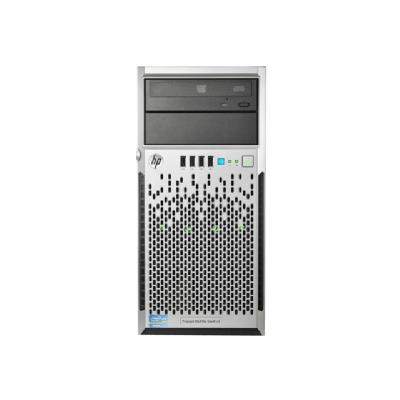 HPE ProLiant ML310e Gen8 v2 Base - tower - Xeon E3-1220V3 3.1 GHz - 4 GB - 0 GB (United States)  SYST