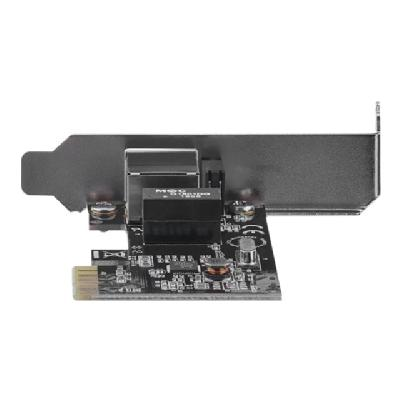 StarTech.com 1 Port PCIe Network Card - Low Profile - RJ45 Port - Realtek RTL8111H Chipset - Ethernet Network Card - NIC Server Adapter Network Card (ST1000SPEX2L) - network adapter - PCIe - Gigabit Ethernet x 1  port to any PC through a PCI Express slot - 1 Por