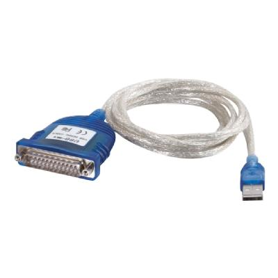 C2G 6FT USB TO DB25 SERIAL RS232 ADAPTER CABLE - serial adapter 32 Adapter Cable