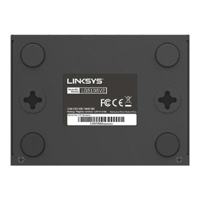 Linksys Business LGS105 - switch - 5 ports - unmanaged  PERP