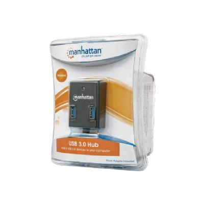 Manhattan SuperSpeed USB 3.0 Hub - hub - 4 ports ER ADAPTER