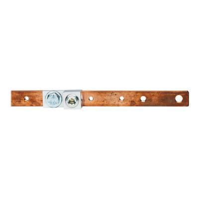 Tripp Lite Copper Bus Grounding Bar for 24U and 25U Racks grounding bar vertical  RACK
