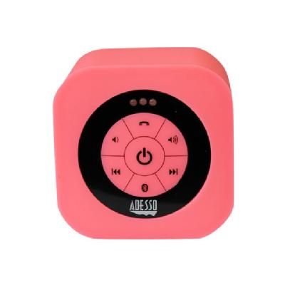 Adesso Xtream S1 - speaker - for portable use - wireless  Waterproof Speaker (Pink)
