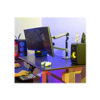 Ergotron LX Dual Stacking Arm - mounting kit - for 2 LCD displays or LCD display and notebook