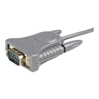 StarTech.com USB to Serial Adapter - 3 ft / 1m - with DB9 to DB25 Pin Adapter - Prolific PL-2303 - USB to RS232 Adapter Cable (ICUSB232DB25) - serial adapter - USB 2.0 notebook or desktop computer w ith this Plug-and Pl