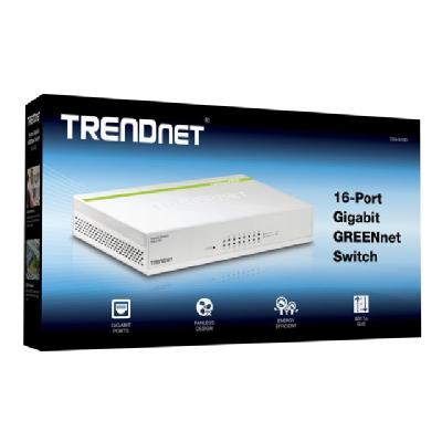 TRENDnet TEG S16D - switch - 16 ports  PERP