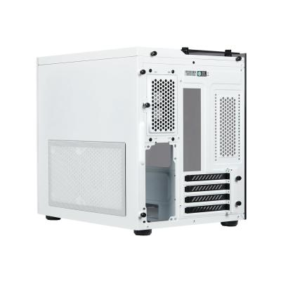 CORSAIR Crystal Series 280X - tower - micro ATX mpered Glass Micro ATX PC Case   White