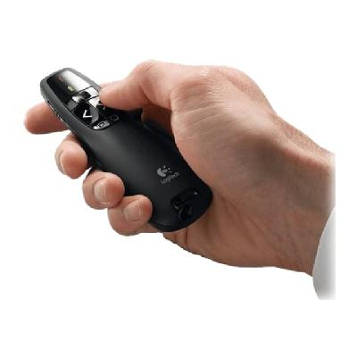 Logitech Wireless Presenter R400 - presentation remote control