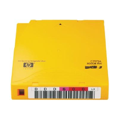 HPE Ultrium RW Data Cartridge - LTO Ultrium x 1 - 400 GB - storage media  RW DATA CART