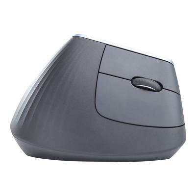Logitech MX Vertical - souris verticale - USB, Bluetooth, 2.4 GHz - graphite