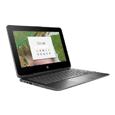 "HP Chromebook x360 11 G1 - Education Edition - 11.6"" - Celeron N3350 - 4 GB RAM - 32 GB SSD - US (Language: English / region: United States)  EE  Celeron Processor N3350 ( 1.10 GHz w/T  2MB Ca"