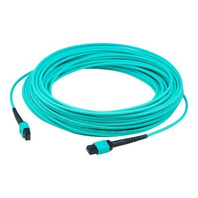AddOn 3m MPO OM4 Aqua Patch Cable - crossover cable - 3 m - aqua  CABL