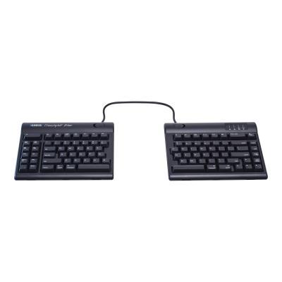 Kinesis Freestyle2 Blue Multichannel for Mac - keyboard r Mac  Multichannel Bluetooth  US English Legendin