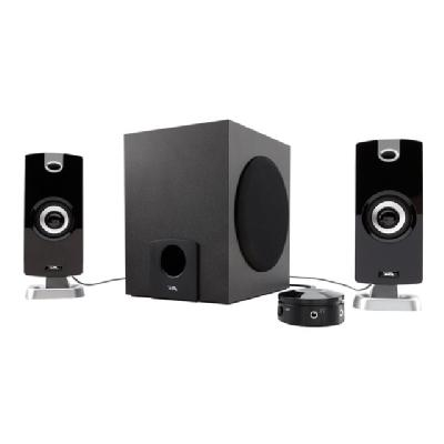 Cyber Acoustics CA-3090 - speaker system - for PC PANEL SATELLITE CNTRL POD MP3 CYBER ACOUSTICS