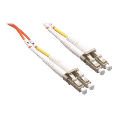 Axiom LC-LC Multimode Duplex OM2 50/125 Fiber Optic Cable - 50m - Orange - network cable - 50 m - orange 125 CABLE 50M