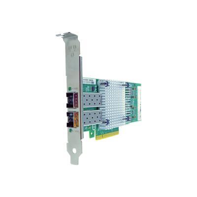 Axiom - network adapter - PCIe 2.0 x8 - 10 Gigabit SFP+ x 2 e x8 NIC Card for HP - 665249- B21