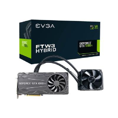 EVGA GeForce GTX 1080 Ti FTW3 HYBRID GAMING - graphics card - GF GTX 1080 Ti - 11 GB HYBRID GAMING NVIDIA GTX 1080 Ti  11GB GDDR5X  HYB
