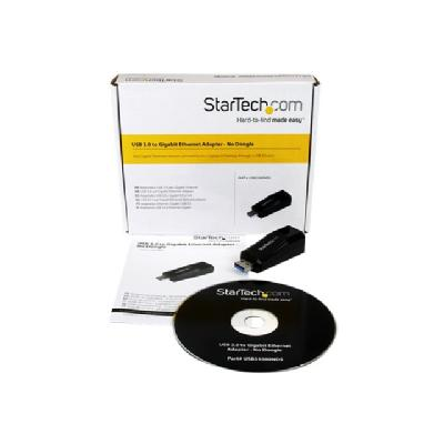 StarTech.com USB 3.0 to Gigabit Ethernet NIC Network Adapter - network adapter