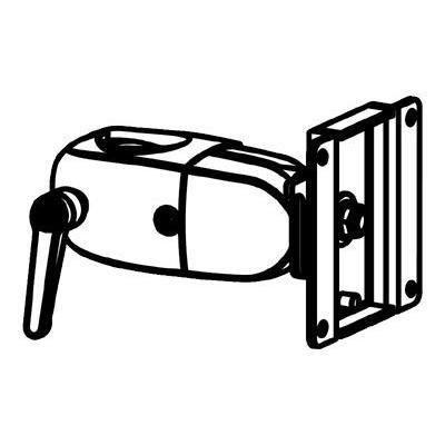 Ergotron DS 100 - monitor clamping pivot ping pivot