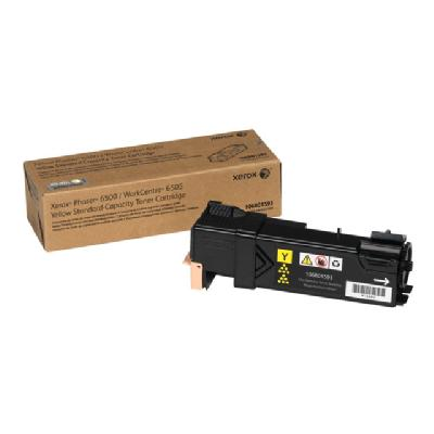 Xerox Phaser 6500 - yellow - original - toner cartridge (North America) tandard Capacity Yellow Toner Cartridge (1 000 Pag
