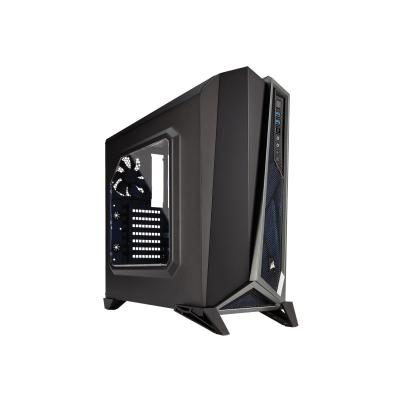 CORSAIR Carbide Series SPEC-ALPHA - mid tower - ATX PHA Mid-Tower Gaming Case  Bla ck & Silver