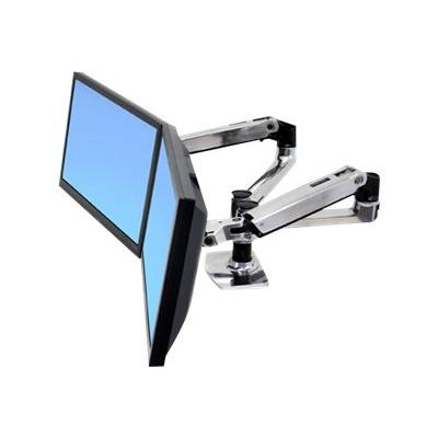 Ergotron LX Dual Side-by-Side Arm - mounting kit - for 2 LCD displays E ARM