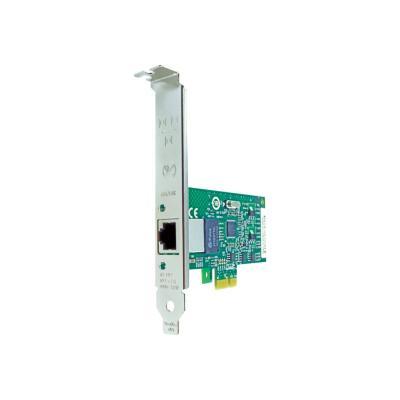 Axiom - network adapter - PCIe 1.1 - Gigabit Ethernet x 1 rt RJ45 PCIe x1 NIC Card for H P - FX527AV