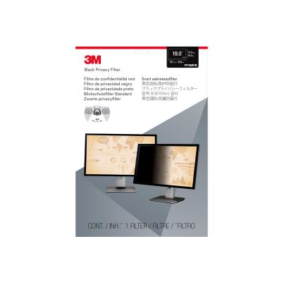 "3M Privacy Filter for 19"" Widescreen Monitor (16:10) - display privacy filter - 19"" wide Widescreen Desktop LCD Monitor  19.0in"